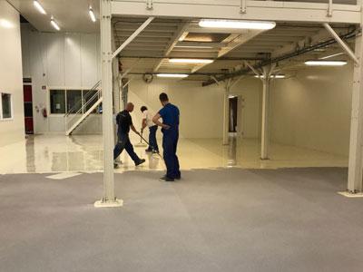 Gietvloer leuven smit vloeren hoge kwaliteit kunststof vloeren